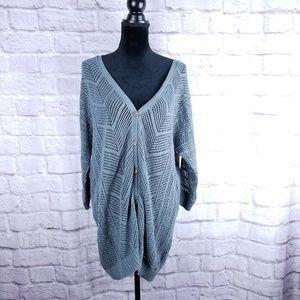 Torrid NWT size 1 plus grey cardigan sweater new